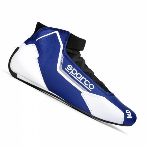 Sparco X-Light Race Boots Blue/White