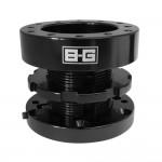 B-G Racing Adjustable Steering Wheel Spacer - BG4922 - 45 - 70mm