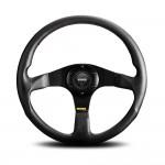Momo Tuner Steering Wheel in Black Leather 320mm