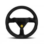 Momo Mod.11 Steering Wheel in Black Suede 260mm
