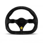 Momo Mod.27 Steering Wheel in Black Suede 270mm