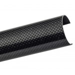 Carbon Fibre Roll Cage Protector - Rollcage Door Bar Tube Cover 1m
