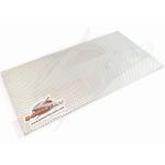 Powerlite Aluminum Extreme Heat Shield 30cm x 60cm