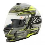 Zamp Helmet RZ 44CE Carbon Green (FIA8859-2015)