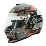 Zamp Helmet RZ 44CE Carbon Orange (FIA8859-2015)