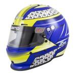 Zamp Helmet RZ 62 Blue/Green (Snell SA2020)