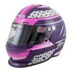Zamp Helmet RZ 62 Pink/Purple (Snell SA2020)