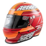 Zamp Helmet RZ 62 Red/Orange (Snell SA2020)