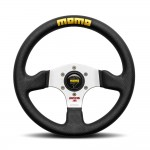 Momo Competition Evo Steering Wheel in Black Leather 320mm
