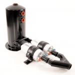 Aeroflow high power surge tank assembly (2 x Bosch 044 Fuel Pumps and 2.5L surge tank)