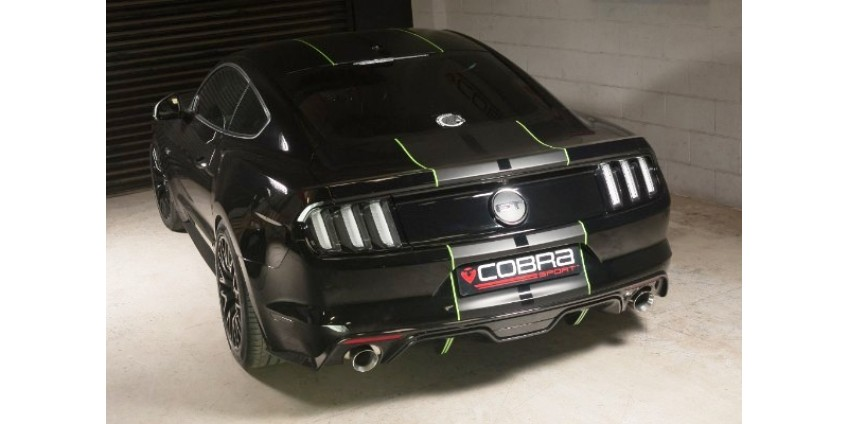 Cobra Release Ford Mustang Gt 5 0 V8 Fastback Performance Exhausts