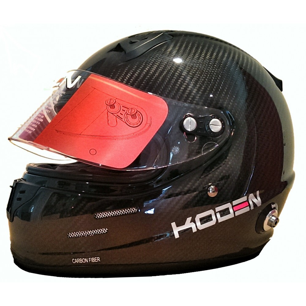 Koden Sah2010 Carbon Fibre Helmet Ksch25 Hawke Motorsport