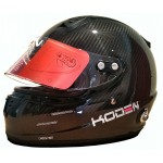 Koden Snell Approved SAH2010 Carbon Fibre Helmet with HANS Posts