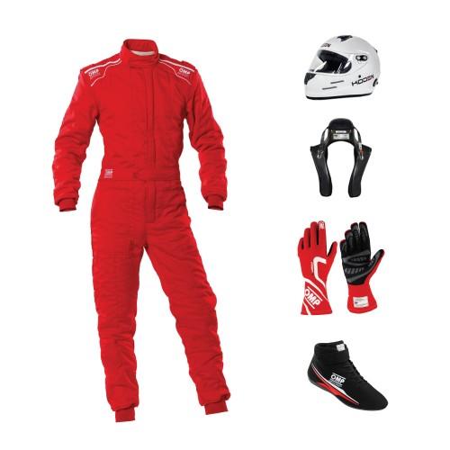 Go Racing Starter Kit Bundle Red - OMP