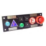 CARTEK PDM Switch Panel 6W (black + START, plain)