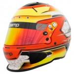 Zamp Helmet RZ 70E Switch Orange/Yellow (Snell SA2020 & FIA885-2015)