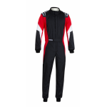 Sparco Competition Pro Suit - Black/Red