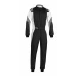 Sparco Competition Pro Suit - Black/White