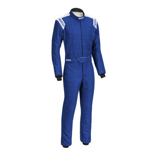 Sparco Conquest R506 Race Suit Blue/White