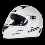 Koden Full Face White Helmet with HANS Posts (Snell SA2015)