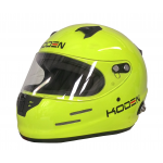 Koden Full Face Yellow Helmet with HANS Posts (Snell SA2015)